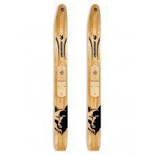Лыжи Охотник деревянные Маяк 185*15 см
