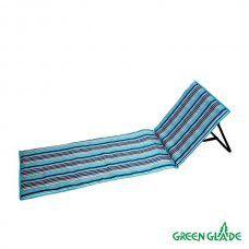 Пляжный коврик со спинкой Green Glade М2301