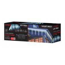 Уличная светодиодная гирлянда Vegas Сосульки Тающие 216 LED, 2,1 м, 24V 55111