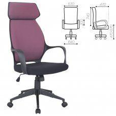 Кресло компьютерное Brabix Premium Galaxy EX-519 ткань, терракотовое 531570