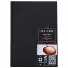 Блокнот для эскизов А5 Fabriano Drawingbook 60 листов, 160 г/м2, мелкое зерно 19100009