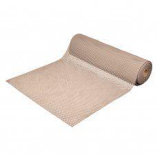 Противоскользящий коврик ПВХ Vortex Шашки 4,5 мм 0,9*10 м бежевый 24072