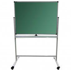 Доска стенд для мела/маркеров двухсторонняя Brauberg Premium 90х120 см 236852