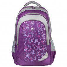 Рюкзак школьный Brauberg Цветочный узор 25 л 225288
