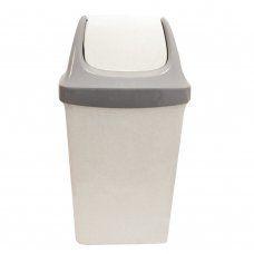 Ведро для мусора с крышкой Idea Свинг 25 л М2463