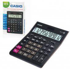 Калькулятор настольный Casio GR-12-W-EP 12 разрядов 250380