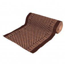 Коврик влаговпитывающий Vortex Siesta без подложки 100х1500 см коричневый 24083
