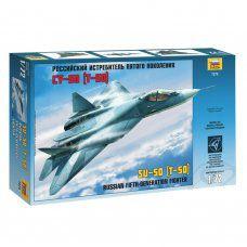Сборная модель Звезда Истребитель пятого поколения российский Су-50 (1:72) 7275