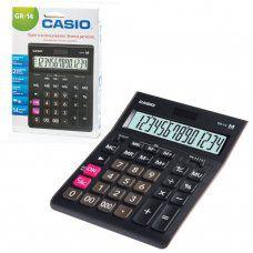 Калькулятор настольный Casio GR-14-W-EP 14 разрядов 250381