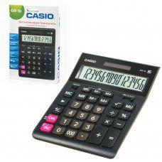 Калькулятор настольный Casio GR-16-W-EP 16 разрядов 250382