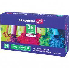 Пастель сухая художественная Brauberg Art Classic 36 цветов круглое сечение 181455