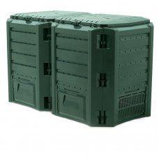Компостер садовый 800л Module IKSM800Z-G851 зеленый УЦЕНЕННЫЙ
