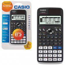 Калькулятор инженерный Casio FX-991EX-S-ET-V 552 функции сертифицирован для ЕГЭ 250397
