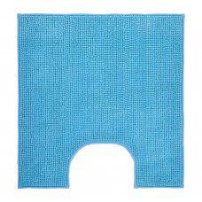 Коврик для туалета Vortex Spa 60х55 см голубой 24267