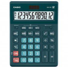 Калькулятор настольный Casio GR-12C-DG-W-EP 12 разрядов 250440