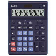 Калькулятор настольный Casio GR-12-BU-W-EP 12 разрядов 250442
