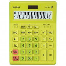 Калькулятор настольный Casio GR-12C-GN-W-EP 12 разрядов 250443