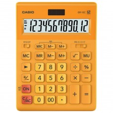 Калькулятор настольный Casio GR-12C-RG-W-EP 12 разрядов 250445