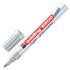 Маркер для затирки плиточных швов Edding 8200 линия 2-4 мм серебристо-серый E-8200/26