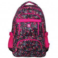 Рюкзак школьный Brauberg Цветы 26 л 226357