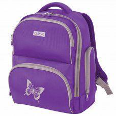Ранец для девочек Brauberg Classic Butterfly 18 л 228830