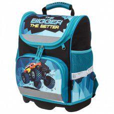 Ранец для мальчиков Юнландия Wise Monster-truck 16 л 229948