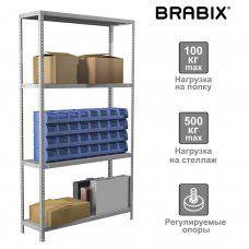Стеллаж металлический Brabix MS Plus-185/30-4 (S241BR153402)