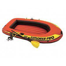 Лодка надувная трехместная Intex Explorer-Pro-300 58358