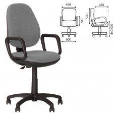 Кресло оператора Nowy Styl Comfort GTP ткань, серое ZT-13