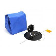 Набор жерлиц оснащенных 10 шт в сумке, подставка 210, катушка 90 мм, алюминиевая стойка