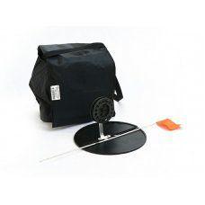 Набор жерлиц зимних 5 шт в сумке, подставка 210, катушка 75 мм, алюминиевая стойка