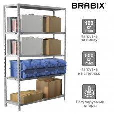 Стеллаж металлический Brabix MS Plus-200/50-5 (S241BR165502)