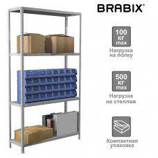 Стеллаж металлический Brabix MS KD-185/30-4 (S240BR143402)
