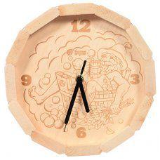 Часы кварцевые для бани и сауны Банные Штучки В парилке 39101