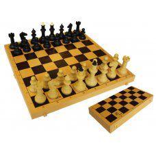 Шахматы обиходные с шахматной доской 03-035