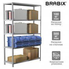 Стеллаж металлический Brabix MS KD-200/60-5 (S240BR246502)