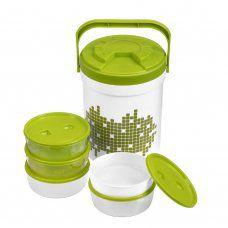 Набор пластиковых контейнеров Pinnacle Picnic 6 шт PP N-PT-1800