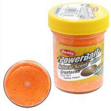 Паста форелевая Berkley 50 г Crustacea - Fluo Orange (оранж. с блеском)